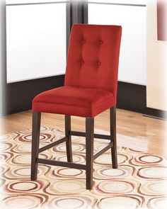 moeu0027s home collection stallo red barstool 36 inch bar stools and bar stools kitchen - 36 Inch Bar Stools