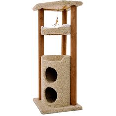 Give your kitty a cozy place to scratch and hide away with the You & Me Cat Multi Level Play Center. Featuring two hideaway spots nestled below multiple levels of lounge space and dual scratching posts, this cat tree will have them purring with pleasure. Raising Kittens, Cat Tree Condo, Play Centre, Outdoor Cats, Pet Furniture, Cat Accessories, Scratching Post, Space Cat, Cozy Place