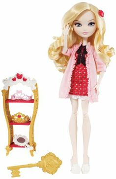 Amazon.com : Ever After High Getting Fairest Apple White Doll : Fashion Dolls : Toys & Games