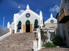 St Peter's Church  - the oldest Anglican church in the western hemisphere, located in St. George