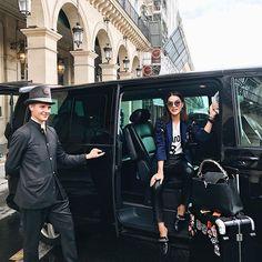 Au revoir Paris! Huge thanks to @vipturismoparis for taking me around all week! ❤🚗 You guys are the best!  ------  Até breve Paris! Obrigadaaaaa a equipe do @vipturismoparis pelo serviço impecável de sempre! Vocês são demais!!! 🚗❤