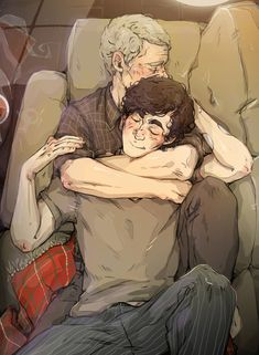 """sweetlittlekitty: """" Sherlock felt so… content, never having this nice of a comedown from his heat before; he supposed by the evening it would be over. He almost wished it wouldn't be. """"Hello, John,""""..."""