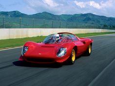 1965 Dino racer (no Ferrari name marked) My Dream Car, Dream Cars, Ferrari Racing, Lamborghini Miura, Car Tuning, Concept Cars, Cars And Motorcycles, Muscle Cars, Cool Cars