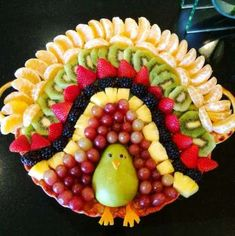 Turkey made out of fruit Turkey made out of fruit,You can find Fruit and more on our website.Turkey made out of fruit Turkey made out of fruit, Healthy Fruit Desserts, Kid Desserts, Fruit Recipes, Healthy Food, Fruit Snacks, Thanksgiving Fruit, Thanksgiving Appetizers, Healthy Meals For Kids, Kids Meals