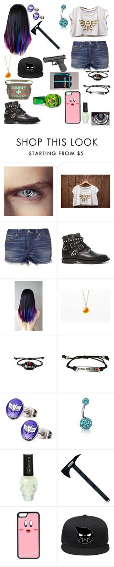 """""""random outfit #62"""" by jarofnerds ❤ liked on Polyvore featuring rag & bone, Yves Saint Laurent, Bling Jewelry and CellPowerCases"""