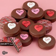 Gift Idea For Him: Valentine's Chocolate Covered Oreo Cookies