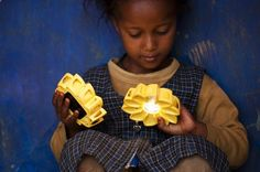 Little Sun is a lantern powered by the suns natural light designed to fight unequal energy distribution around the world.
