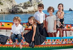 mini trends and Co : Dolce & Gabbana Kids Verao 2013