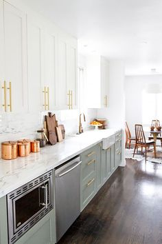 """Upgrade hardware.""""Save on the actual cabinetry, especially since they all serve the same purpose,"""" says Zwickl, also of Studio Life.Style. Instead, Wollacksays to turn your attention..."""