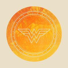 Wonder Woman Sun Shield design on @TeePublic!