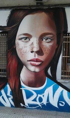 graffiti., Jérôme Ibiza