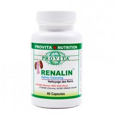 Renalin from Provita Nutrition is a dietary food supplement that combines selected herbs that support kidney health. Uric Acid Gout, Kidney Cleanse, Kidney Health, Kidney Stones, Ron, Prunus, Herbs, Nutrition, Blood