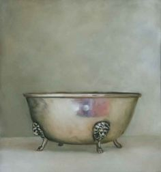 Jane Willis Taylor | Silver Bowl | pastel on paper