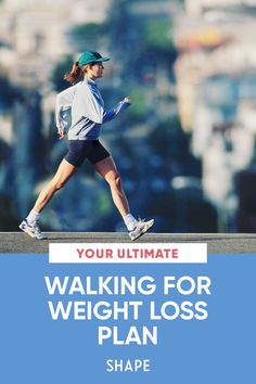 Follow this four-week walking for weight-loss plan to lose up to 10 pounds this month and sculpt stronger, sleeker legs. #walkingforweightloss #weightlossplan #walking