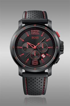 Hugo Boss in red/black