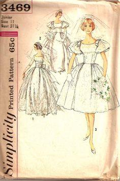 Rockabilly Diva Wedding Dress Pattern