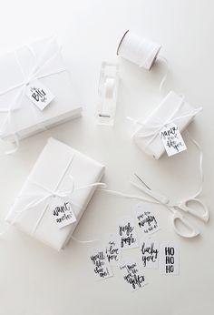 10 Free Holiday Printable Gift Tags