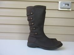 3da1c7eb09d0 Merrell Espresso women boots 9.5 Dark Brown Leather Waterproof