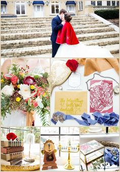 Beauty and the Beast Wedding Ideas featured by Snappening Beauty And Beast Wedding, Beauty And The Beast, Wedding Colors, Wedding Styles, Color Palettes, Special Day, Weddingideas, Wedding Details, Florals