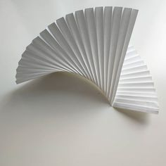 As simple as this  @kingkongdesign #papercraft #paperart #paperartist #origamiart #paperfold #organicshapes #knifepleats #origamidecor #origami #paperdecoration #paperdecor #papercloud #naturalmaterials #nature #lines #folding #paperengineering #newshape #newshapes