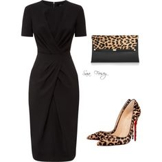 A fashion look from October 2015 featuring Jaeger dresses, Christian Louboutin pumps y Diane Von Furstenberg clutches. Browse and shop related looks.