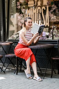 Ootd red summer outfit hungary easy book style