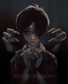 "3,855 Likes, 10 Comments - just a shook fujoshi  (@killingstalking) on Instagram: ""tHIS IS MY NEW FAVORITE FAN ART OF KILLING STALKING IM SKSKSHSJSH #killingstalking - {credit to…"""