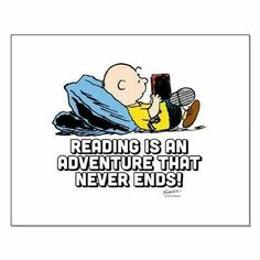 Reading is an adventure that never ends!
