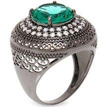 0926a33af4866 63 melhores imagens de Aneis Semi Joias VIKA   Quartz crystal, Pearl ...