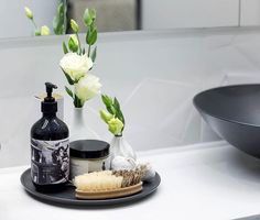 Get the look of @karlieandwill's luxe bathroom accessories at The Block Shop including the lovely Australian-made animal-friendly hand wash. Just shop Will & Karlie at http://ift.tt/1v9jaEU now. #9theblock #bathroom http://ift.tt/2cYYBca