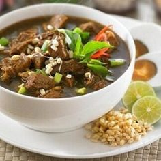 Indonesian food is the best - farmings Good Food, Yummy Food, Tasty, Gado Gado Recipe, Soto Betawi, Indonesian Food, Indonesian Recipes, Chicken Wing Recipes, Cheap Meals
