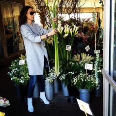 .@kellywearstler | Flower shopping for my party tonight with lacma. Xk | Webstagram - the best Instagram viewer