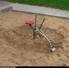 playground digger things.