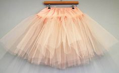 DIY Tutorial: Multi-Layered Tulle Petticoat (Make Your Own Rainbow Petticoat!) · DIY Tutorials · Guest Posts · Rock n Roll Bride