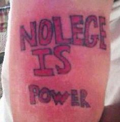 These 23 Morons Proudly Display Their Cringeworthy Tats
