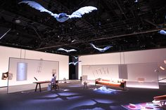 The wonderful world of Hermès collided with the spectacular, creative vision of the director and artist Robert Wilson in New York this week. Working together to present a surreal, off-kilter realm centred around Hermès' home collections, the perfor...