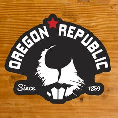 Oregon Republic | Sticker