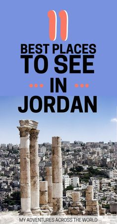 Where to go in Jorda