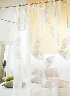 Lea Willow Voile Curtain from Net Curtains Direct ADO Drapery Designs, Voile Curtains, Wall Colors, Curtains Direct, New Homes, Relax, Pure Products, Living Room, Luxury