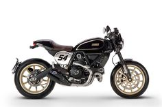 The new Ducati Scrambler Cafe Racer: One of Bike EXIF's top picks from the EICMA 2016 show.
