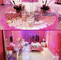 Festa com o tema Barbie