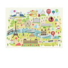 Puzzle Paris Michèle Wilson