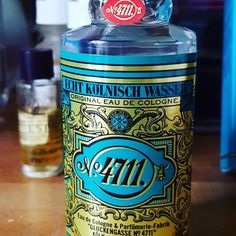 Lauren WoodsさんはInstagramを利用しています:「Love the #retro #packaging on my new #cologne #fragrance #4711 #ismellgood #project365 #picoftheday」