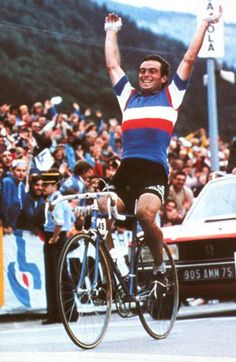 """Bernard Hinault """"The Badger"""" (1954, Fra) - Record of over 250 professional victories"""