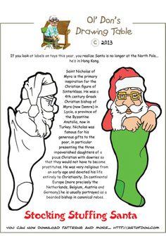 Ol' Don - stocking stuffer santa