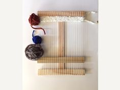 This etsy shop makes the most beautiful handmade wooden weaving looms, including this one sized just for children. Lovely holiday gift.