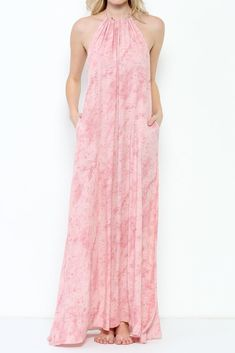 Blush Pink Maxi Dress Open Back Blush Pink Maxi Dress, Pink Gowns, Selling Online, Bridesmaid Dresses, Bohemian, Patterns, Clothes, Fashion, Bridesmade Dresses