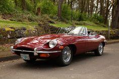 1970 E-Type Jaguar Convertible