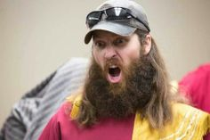 Jase from Duck Dynasty. The face is so funny! Jase Robertson, Robertson Family, Duck Dynasty Cast, Quack Quack, Duck Commander, Baby Ducks, Tv Actors, Interesting Faces, Celebs