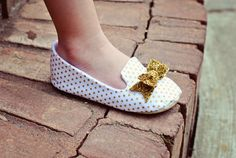Baby Girl Loafers Toddler Girl Shoes Soft Soled by LittlePoshBebe, $32.00